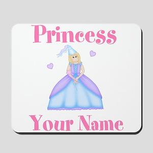 Blond Princess Personalized Mousepad