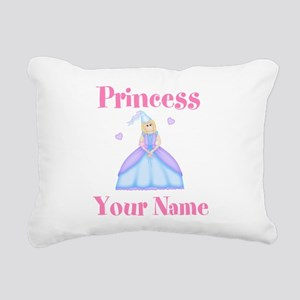 Blond Princess Personalized Rectangular Canvas Pil