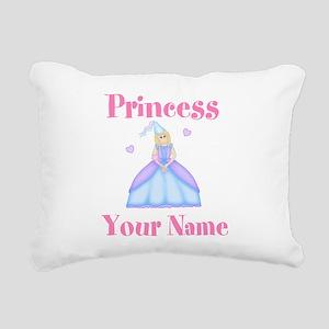 Blond Princess Personalized Rectangular Canvas Pil