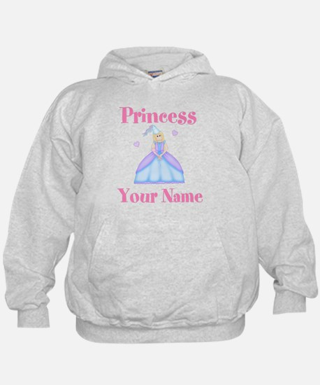 Blond Princess Personalized Hoody