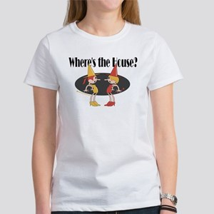 Wheres the House Womens Funny Halloween T-Shirt