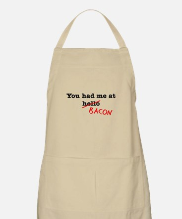 Bacon You Had Me At Apron