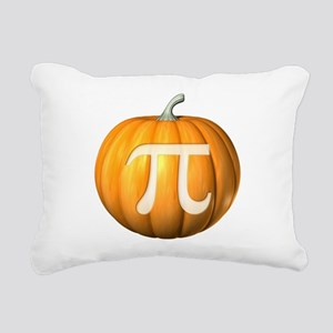 Pumpkin Pi Rectangular Canvas Pillow