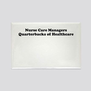 Nurse Care Managers Rectangle Magnet