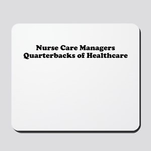 Nurse Care Manager Mousepad