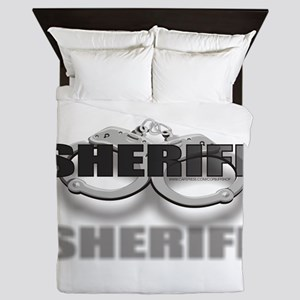 CUFFSSHERIFF Queen Duvet