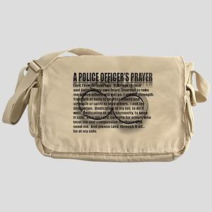 A POLICE OFFICERS PRAYER Messenger Bag