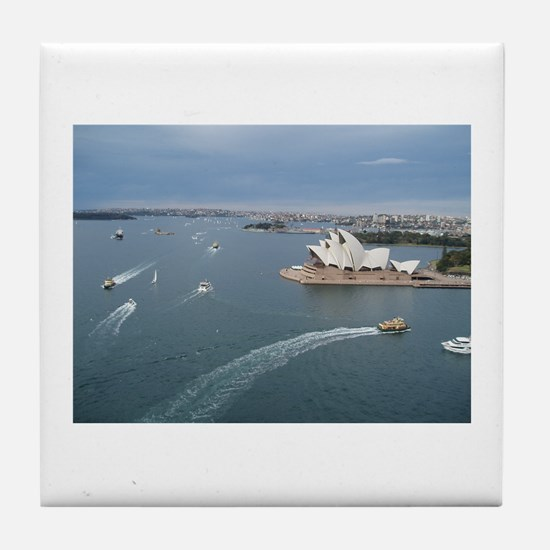 Sydney Harbour Tile Coaster