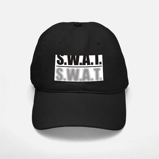 SWATBLACK.jpg Baseball Hat