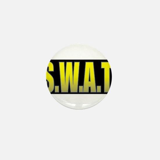 SWAT/BLACK Mini Button