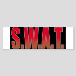 SWATBLACK Sticker (Bumper)