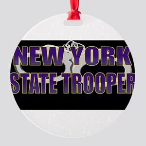 NYTROOPER5 Round Ornament