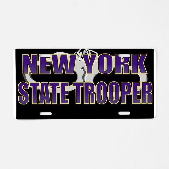 NYTROOPER5.jpg Aluminum License Plate