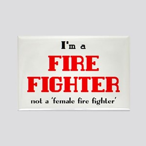 just fire fighter Rectangle Magnet