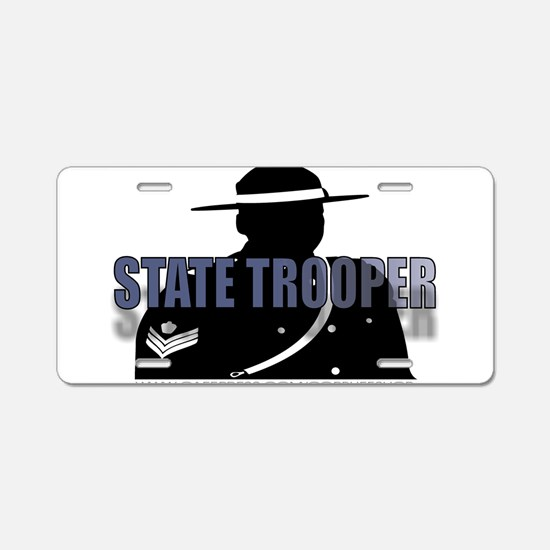 TROOPERS Aluminum License Plate