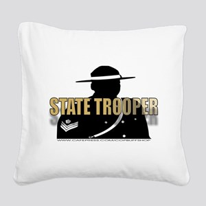 TROOP5 Square Canvas Pillow