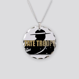 TROOP5 Necklace Circle Charm