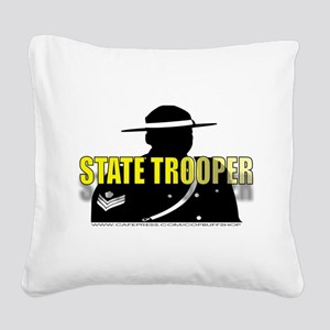 TROOP2 Square Canvas Pillow