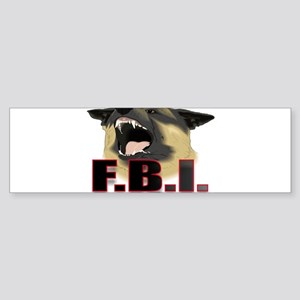 FBI2 Sticker (Bumper)