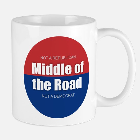 Middle of the Road Mugs