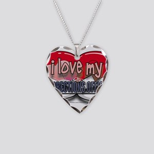 LOVECO Necklace Heart Charm
