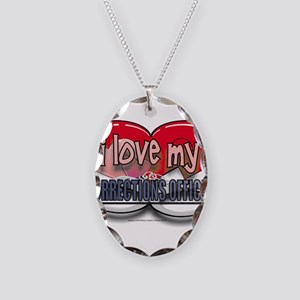 LOVECO Necklace Oval Charm