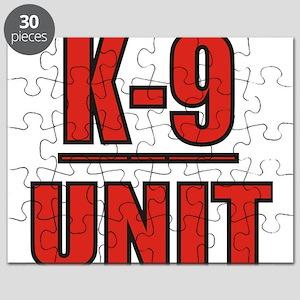 K-9UNITLOGO8 Puzzle