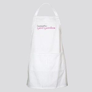I'm going to be a Great Grandma BBQ Apron