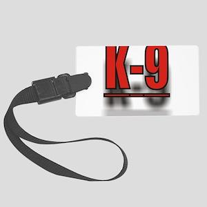 K-9UNITLOGO1 Large Luggage Tag