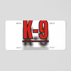 K-9UNITLOGO1 Aluminum License Plate