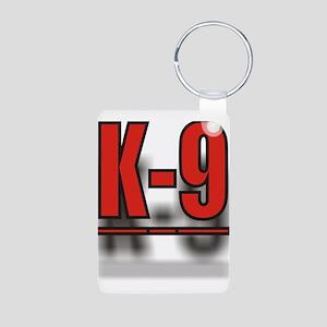 K-9UNITLOGO1 Aluminum Photo Keychain