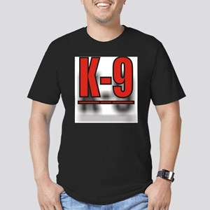 K-9UNITLOGO1 Men's Fitted T-Shirt (dark)