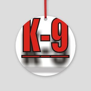 K-9UNITLOGO1 Ornament (Round)