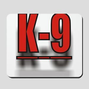 K-9UNITLOGO1 Mousepad