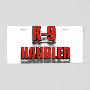 K-9UNITLOGO7 Aluminum License Plate