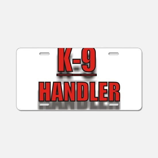 K-9UNITLOGO7.jpg Aluminum License Plate