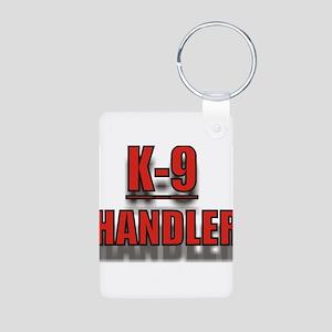 K-9UNITLOGO7 Aluminum Photo Keychain