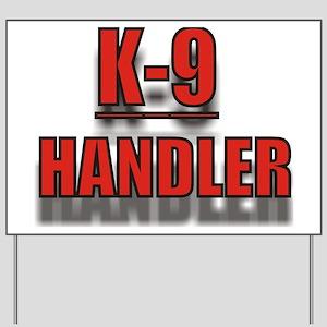 K-9UNITLOGO7 Yard Sign