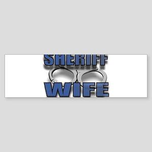 SHERIFFWIFE Sticker (Bumper)
