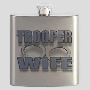 TROOPERWIFE Flask