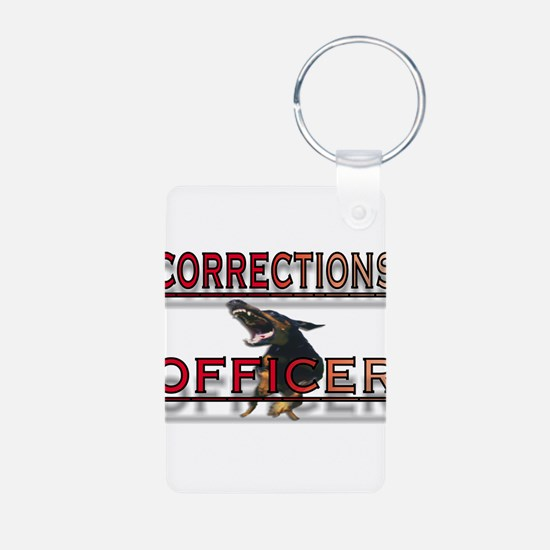 CORRECTIONS OFFICER Keychains