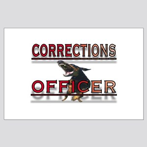 CORRECTIONS OFFICER Large Poster