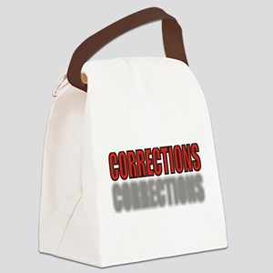 CORRECTIONSRED Canvas Lunch Bag
