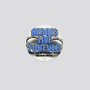 HEROES Mini Button