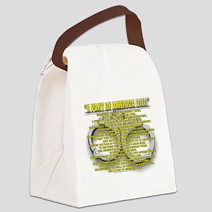 AMER3 Canvas Lunch Bag