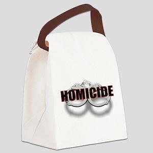 HOMICIDE Canvas Lunch Bag