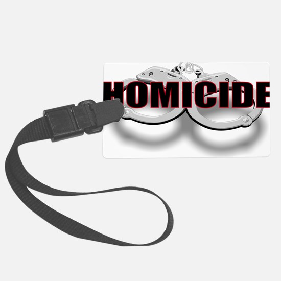 HOMICIDE.jpg Luggage Tag