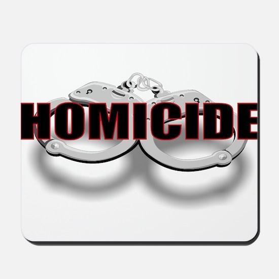 HOMICIDE.jpg Mousepad