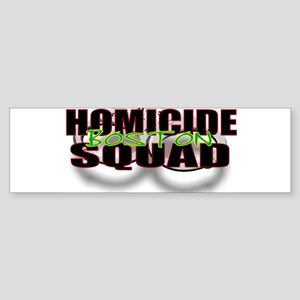 HOMICIDEBOSTON Sticker (Bumper)