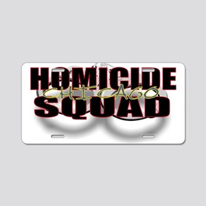 HOMICIDECHIC Aluminum License Plate